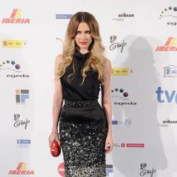 Vanesa Romero en los Premios José María Forqué 2012