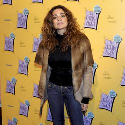 Sylvia Pantoja en el estreno de 'La extraña pareja'