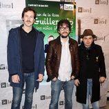Jorge Suquet, Flipy y Jimmy Barnatán en el estreno de 'Guillermito y los niños ¡a comer!'