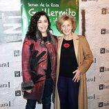 María Isasí y Marisa Paredes en el estreno de 'Guillermito y los niños ¡a comer!'