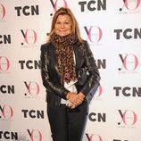 Cari Lapique en el desfile de TCN en la 080 Barcelona Fashion