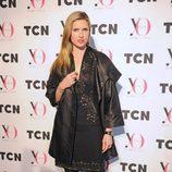Judit Mascó en el desfile de TCN en la 080 Barcelona Fashion