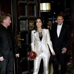 Mary de Dinamarca en los premios Ecco Walk in Style 2012