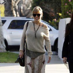 Elsa Pataky luce su embarazo en Los Angeles