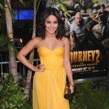 Vanessa Hudgens en el estreno de 'Viaje al centro de la tierra 2' en Los Ángeles