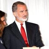 El Rey Felipe en la entrega del Premio Francisco Cerecedo a Anne Applebaum