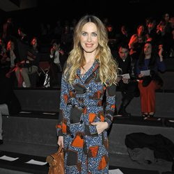 Vanesa Romero en el desfile de Hannibal Laguna en Fashion Week Madrid