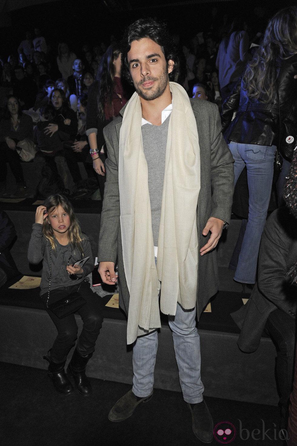 Alonso Aznar en el desfile de Tcn en Madrid Fashion Week ...