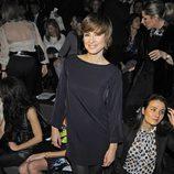 Sandra Barneda en el desfile de Aristocrazy en la Madrid Fashion Week