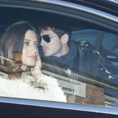 Sara Carbonero e Iker Casillas llegan a su casa