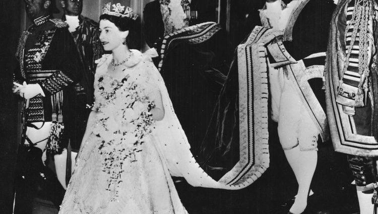 Coronación de la Reina Isabel II del Reino Unido en 1953