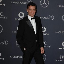 Clive Owen en los Premios Laureus 2012