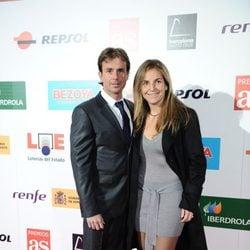 Arantxa Sánchez Vicario y José Santacana