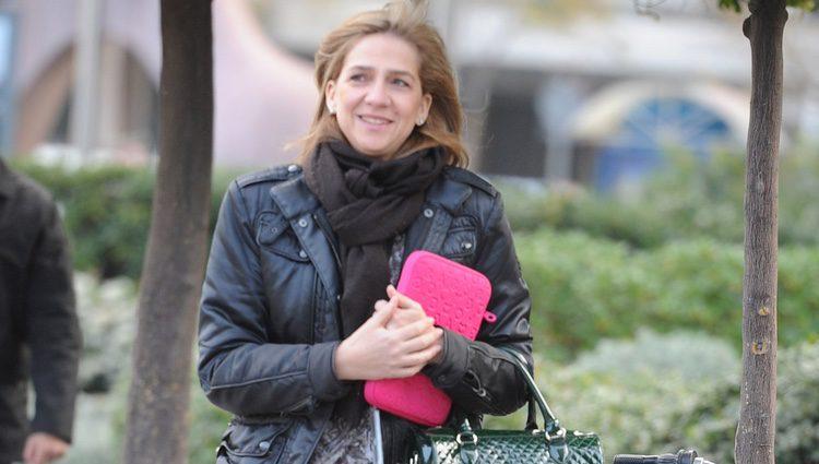La Infanta Cristina vuelve a Barcelona