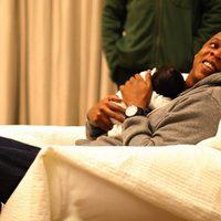 Jay-Z con su hija Blue Ivy Carter