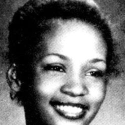 Whitney Houston de adolescente