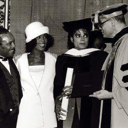 Whitney Houston y Michael Jackson, la reina y el rey del pop