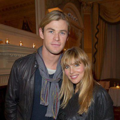 Elsa Pataky y Chris Hemsworth en una fiesta en Londres