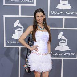 Alicia Arden en los Grammy 2012