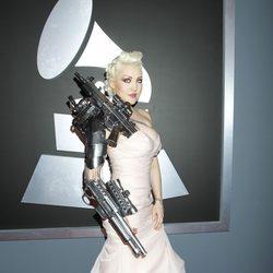 Sasha Gradiva en los Grammy 2012