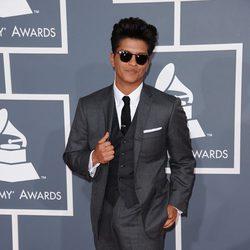 Bruno Mars en los Grammy 2012