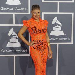 Fergie en los Grammy 2012
