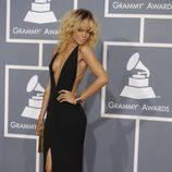 Rihanna en los Grammy 2012