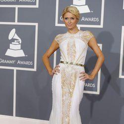 Paris Hilton en los Grammy 2012