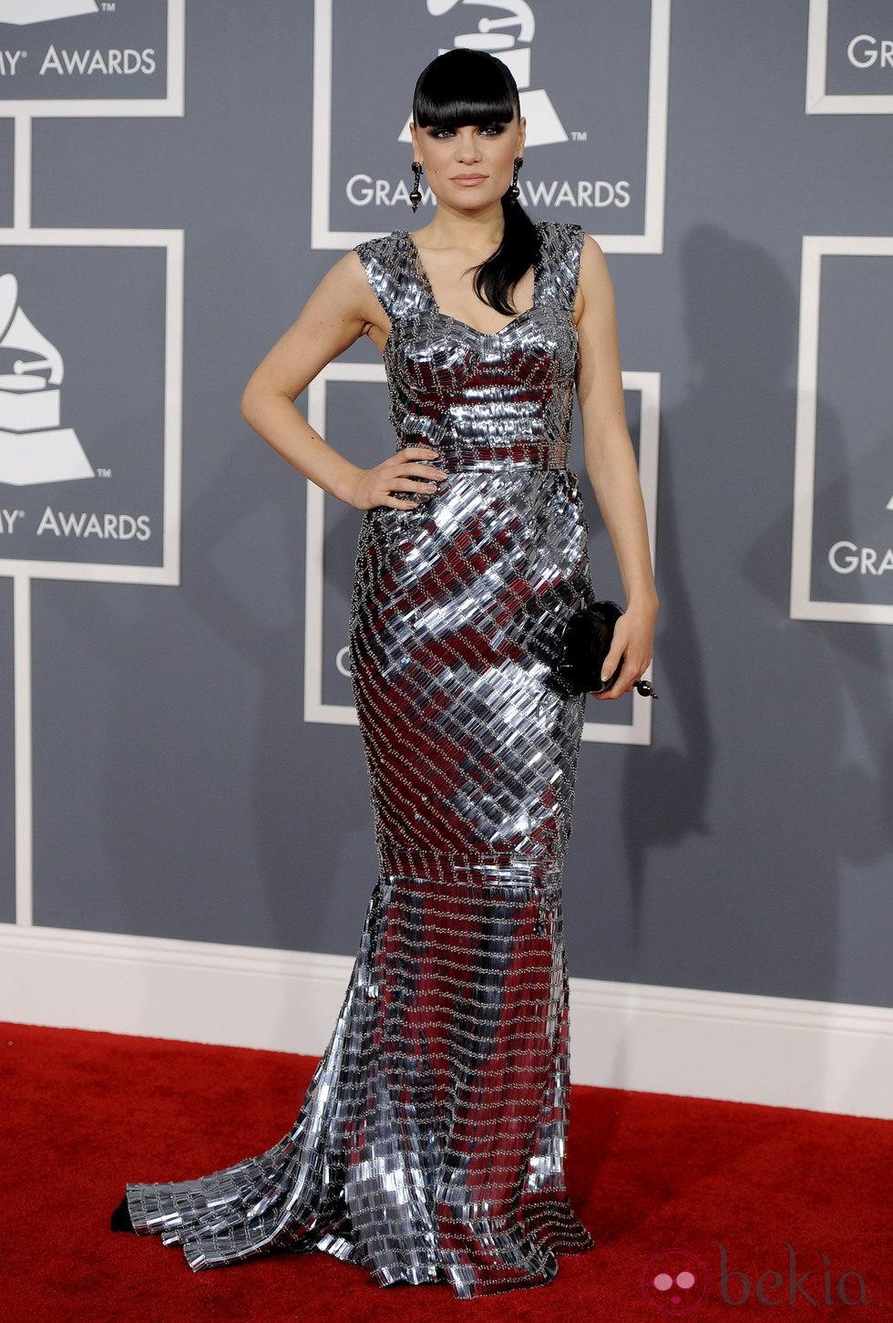 Jessie J en los Grammy 2012