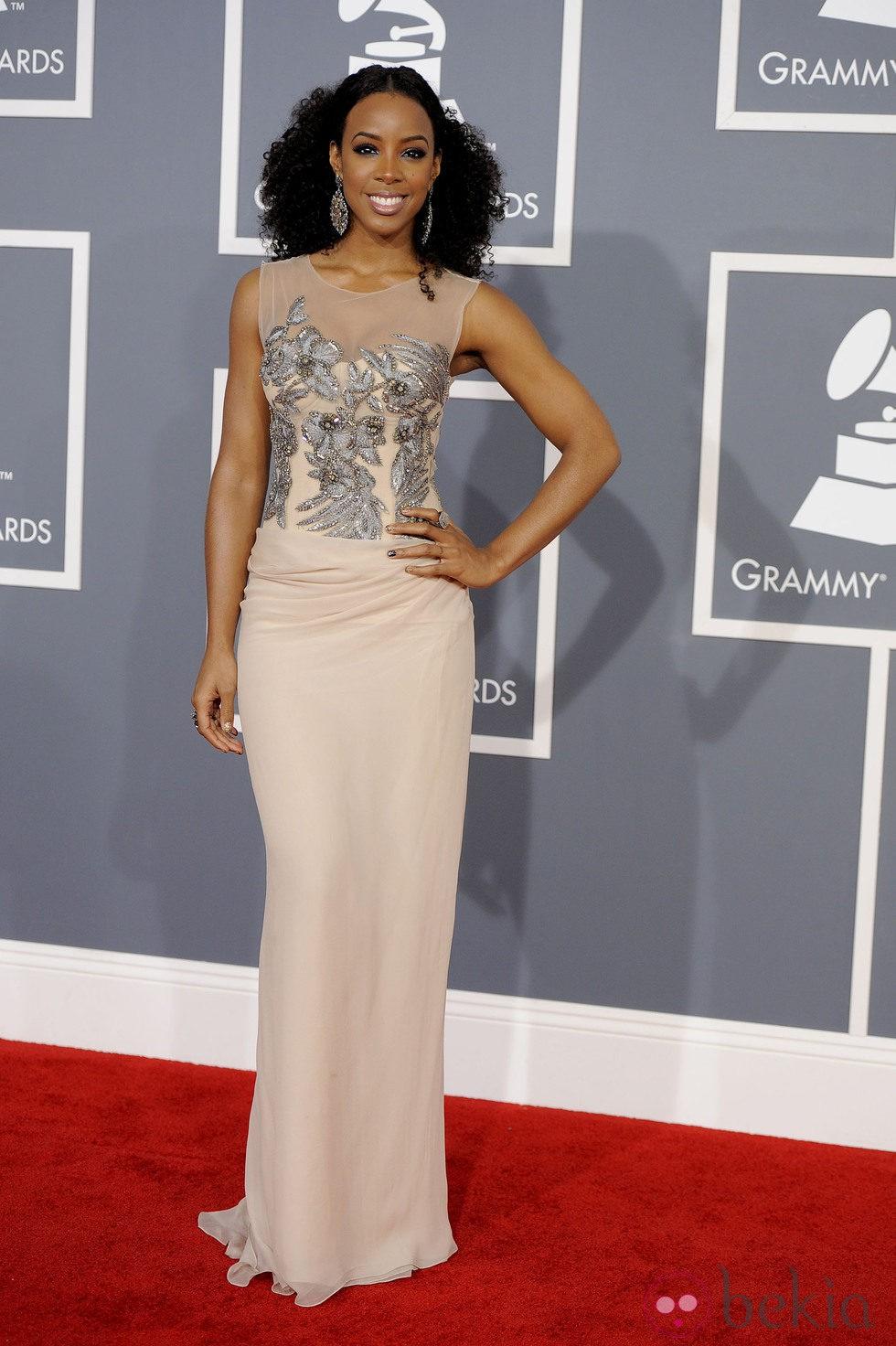Kelly Rowland en los Grammy 2012