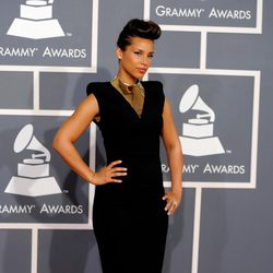 Alicia Keys en los Grammy 2012
