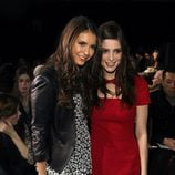 Ashley Greene y Nina Dobrev en la Semana de la Moda de Nueva York