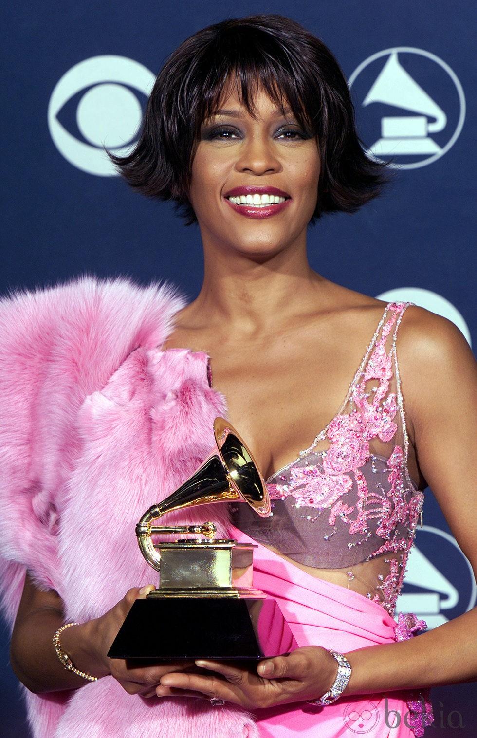 Whitney Houston ha ganado seis Grammys en toda su carrera