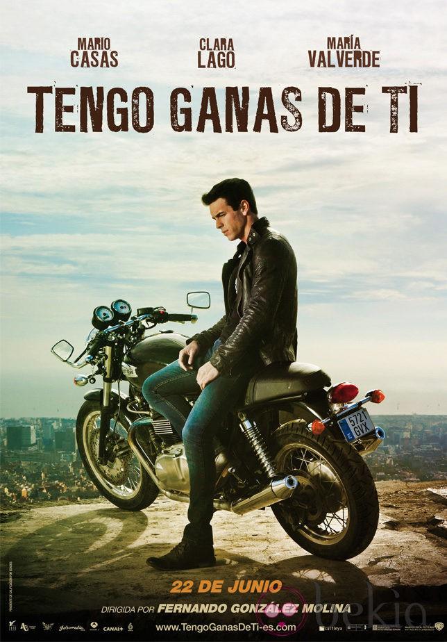 Primer póster de la película 'Tengo ganas de tí'