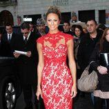 Stacy Keibler en la semana de la moda de Nueva York