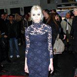 Taylor Momsen en la semana de la moda de Nueva York