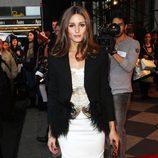 Olivia Palermo en la semana de la moda de Nueva York