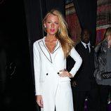 Blake Lively en la semana de la moda de Nueva York