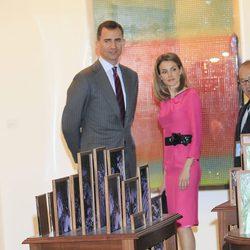Los Príncipes de Asturias en ARCO 2012