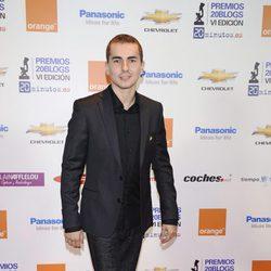 Jorge Lorenzo en los Premios 20Blogs
