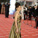 Silvia Marsó en la alfombra roja de los Goya 2012