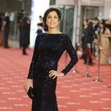 Toni Acosta en la alfombra roja de los Goya 2012