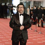 Agustín Jimenez en la alfombra roja de los Goya 2012