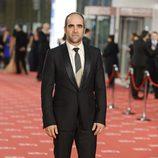Luis Tosar en la alfombra roja de los Goya 2012