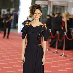 Pilar López de Ayala en la alfombra roja de los Goya 2012