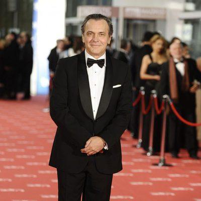 José Coronado en la alfombra roja de los Goya 2012