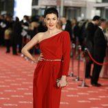 Marta Nieto en la alfombra roja de los Goya 2012