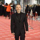Javier Gutierrez en la alfombra roja de los Goya 2012