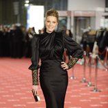 Carolina Bang en la alfombra roja de los Goya 2012