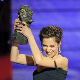 María León alza su Premio Goya